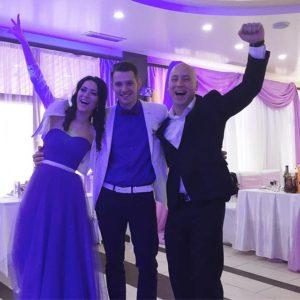 Проведение свадьбы у Данилы ведущим Денисо Скрипко в Киеве