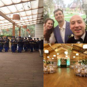 Ведущий Денис Скрипко на свадьбе Олега и Наташи в Киеве