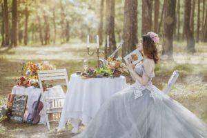 отметить свадьбу на природе